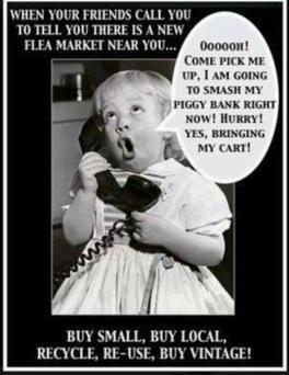 Flea market call