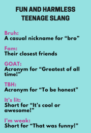 teenage slang words 2